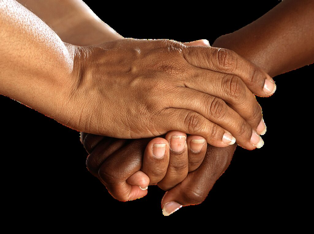 hands, shake, encouragement